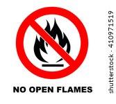 no fire sign | Shutterstock .eps vector #410971519