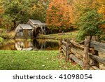 Virginia\'s Mabry Mill On The...
