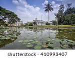the bogor palace is one of 6... | Shutterstock . vector #410993407