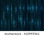 abstract technology background. ... | Shutterstock .eps vector #410995561