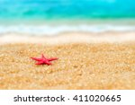 Small Figure Of Starfish  In...
