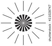 sunshine sun logo   Shutterstock .eps vector #411028747