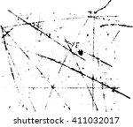 scratch grunge  effect . simply ... | Shutterstock .eps vector #411032017