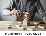 business concept for growth... | Shutterstock . vector #411032215
