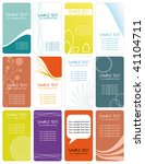 business cards  banners or gift ... | Shutterstock .eps vector #41104711