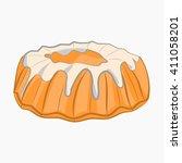 cartoon icon donut art web new...