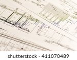 image of construction business  ... | Shutterstock . vector #411070489