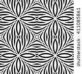 design seamless monochrome... | Shutterstock .eps vector #411085861