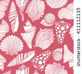 vector seamless pattern with... | Shutterstock .eps vector #411112135