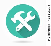 Tool  Vector Icon With Long...