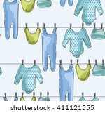 cute hand drawn  illustration...   Shutterstock .eps vector #411121555