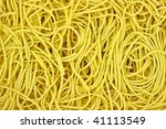 close view of crispy chow mein... | Shutterstock . vector #41113549