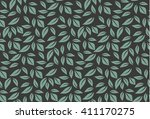 vector seamless pattern with... | Shutterstock .eps vector #411170275