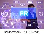 page ranking  public relations... | Shutterstock . vector #411180934