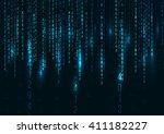 Abstract Technology Background. Web Developer. Computer Code. Programming. Coding. Hacker concept. Vector  Illustration. - stock vector