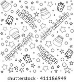 vector illustration pattern of... | Shutterstock .eps vector #411186949