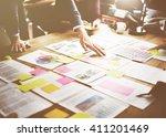 business corporation... | Shutterstock . vector #411201469