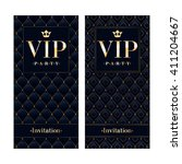 vip club party premium... | Shutterstock .eps vector #411204667