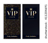 vip club party premium... | Shutterstock .eps vector #411204691