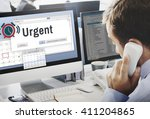 urgent necessary important... | Shutterstock . vector #411204865