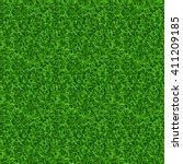 seamless grass vector texture.... | Shutterstock .eps vector #411209185