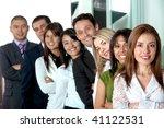business office team work   all ... | Shutterstock . vector #41122531
