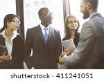 Business People Meeting Corporate Greeting Handshake Concept