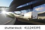 3d rendering of generic... | Shutterstock . vector #411245395