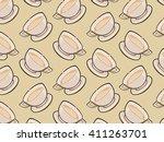 milk background   Shutterstock .eps vector #411263701