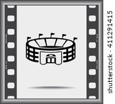stadium sign icon  vector... | Shutterstock .eps vector #411291415