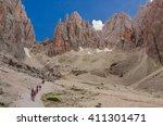 views of cinquedita  sasso... | Shutterstock . vector #411301471