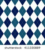 Seamless Argyle Pattern In Nav...