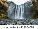 Skogafoss Waterfall  The...