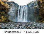 Skogafoss Waterfall  The...