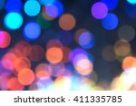 bokeh abstract light backgrounds | Shutterstock . vector #411335785
