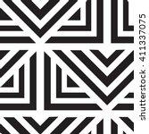 vector geometric seamless... | Shutterstock .eps vector #411337075