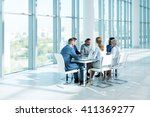 business people at meeting | Shutterstock . vector #411369277