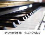 piano  music instrument ... | Shutterstock . vector #411409339