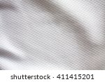 white sports clothing fabric... | Shutterstock . vector #411415201