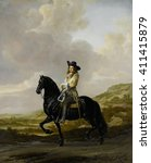 Pieter Schout On Horseback  By...