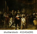 Night Watch  By Rembrandt Van...