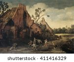 The Robbery  By Esaias Van De...