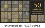 luxury patterns with geometric... | Shutterstock .eps vector #411434965