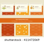 vector design kit with business ... | Shutterstock .eps vector #411472069