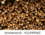Background Of Wood Piles