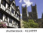 Lincoln Cathedral In The...