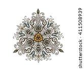 mandala. ethnic decorative... | Shutterstock .eps vector #411508939