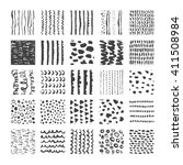 hand drawn textures  template... | Shutterstock .eps vector #411508984
