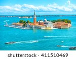 view from san marco to san... | Shutterstock . vector #411510469