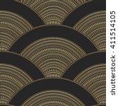 vector abstract seamless... | Shutterstock .eps vector #411514105